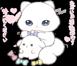 Momomochi Bunny Party sticker #9259438