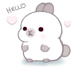 Momomochi Bunny Party sticker #9259440