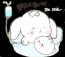 Momomochi Bunny Party sticker #9259441