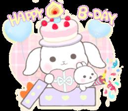 Momomochi Bunny Party sticker #9259444