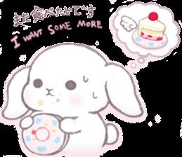 Momomochi Bunny Party sticker #9259445