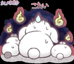 Momomochi Bunny Party sticker #9259446