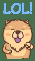 Chow Chow sticker #9261583
