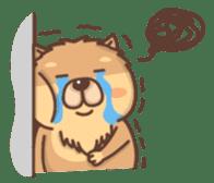 Chow Chow sticker #9261587