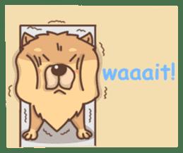 Chow Chow sticker #9261603