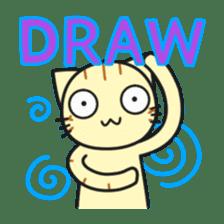Teasing cat kuu sticker #9264671