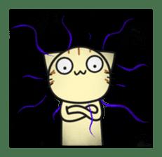 Teasing cat kuu sticker #9264675