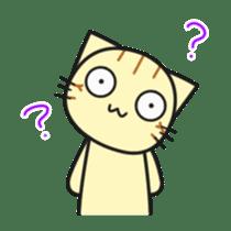 Teasing cat kuu sticker #9264689