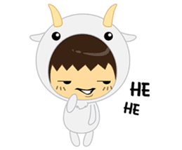 Pee Mamae sticker #9265286