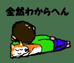 Shiba inu MOMO chan the third as well 12 sticker #9269447
