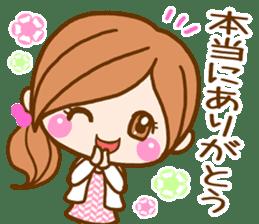 pretty girl 2  by rurue sticker #9272990