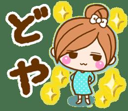 pretty girl 2  by rurue sticker #9272998