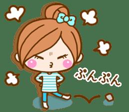 pretty girl 2  by rurue sticker #9272999