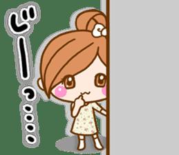 pretty girl 2  by rurue sticker #9273002
