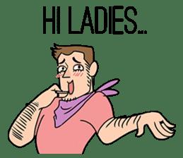 My name is Susi, a sensitive gentleman ! sticker #9279123