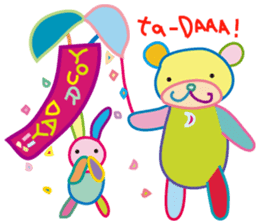 greetings, celebration ,thanks.by uenoai sticker #9281148