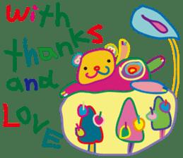 greetings, celebration ,thanks.by uenoai sticker #9281156