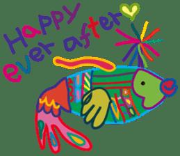 greetings, celebration ,thanks.by uenoai sticker #9281158