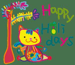 greetings, celebration ,thanks.by uenoai sticker #9281162