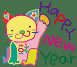 greetings, celebration ,thanks.by uenoai sticker #9281165