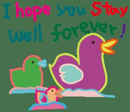 greetings, celebration ,thanks.by uenoai sticker #9281170