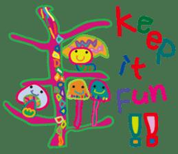greetings, celebration ,thanks.by uenoai sticker #9281175