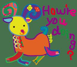 greetings, celebration ,thanks.by uenoai sticker #9281176