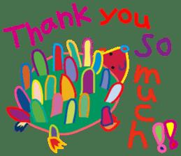 greetings, celebration ,thanks.by uenoai sticker #9281178