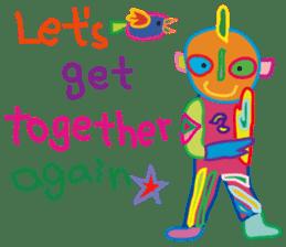 greetings, celebration ,thanks.by uenoai sticker #9281183
