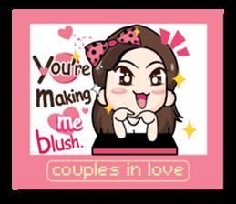 The single lady (EN) sticker #9290399