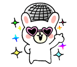 Rabbit Party Rock sticker #9291080