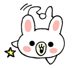 Rabbit Party Rock sticker #9291083