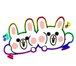 Rabbit Party Rock sticker #9291097