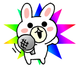 Rabbit Party Rock sticker #9291108