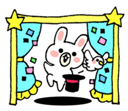 Rabbit Party Rock sticker #9291110