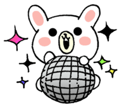 Rabbit Party Rock sticker #9291118