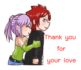 vampire in love (EN) sticker #9294328