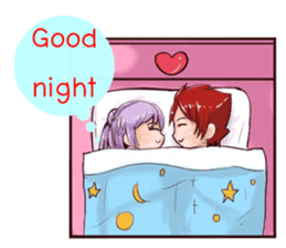 vampire in love (EN) sticker #9294343