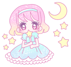 Dreamy KAWAII Girls sticker #9294705