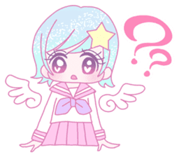 Dreamy KAWAII Girls sticker #9294707