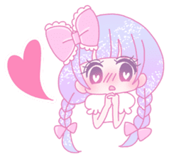Dreamy KAWAII Girls sticker #9294708