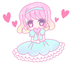 Dreamy KAWAII Girls sticker #9294709