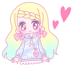 Dreamy KAWAII Girls sticker #9294710