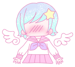 Dreamy KAWAII Girls sticker #9294711