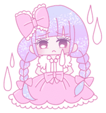 Dreamy KAWAII Girls sticker #9294716