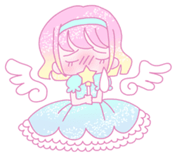 Dreamy KAWAII Girls sticker #9294717