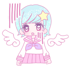 Dreamy KAWAII Girls sticker #9294719