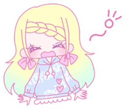Dreamy KAWAII Girls sticker #9294722