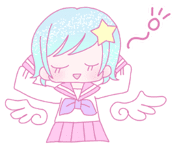 Dreamy KAWAII Girls sticker #9294723