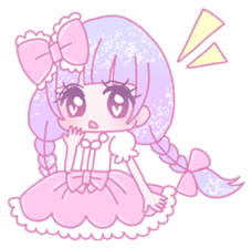 Dreamy KAWAII Girls sticker #9294724